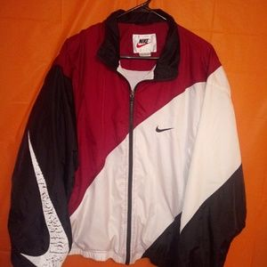 Vintage NIKE windbreaker. Sz Large. Great colorway